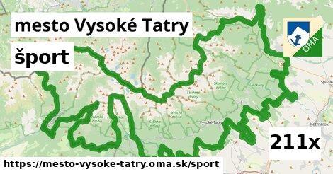 šport v mesto Vysoké Tatry