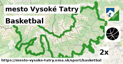 ilustračný obrázok k Basketbal, mesto Vysoké Tatry