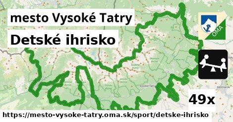 ilustračný obrázok k Detské ihrisko, mesto Vysoké Tatry
