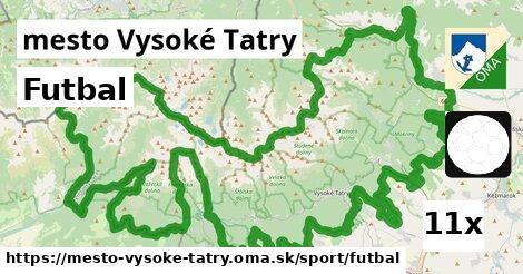 ilustračný obrázok k Futbal, mesto Vysoké Tatry
