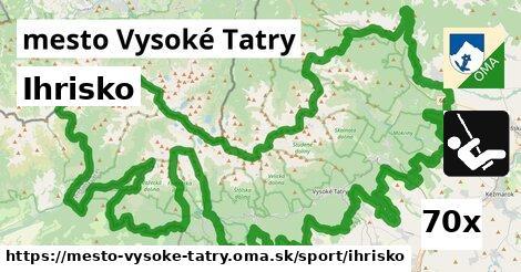 ihrisko v mesto Vysoké Tatry