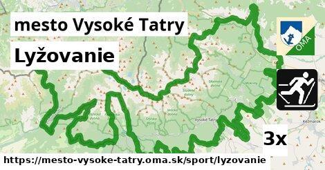 ilustračný obrázok k Lyžovanie, mesto Vysoké Tatry
