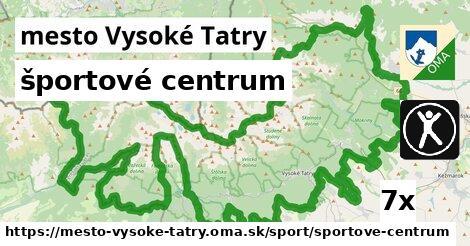 športové centrum v mesto Vysoké Tatry