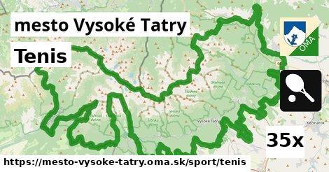 tenis v mesto Vysoké Tatry