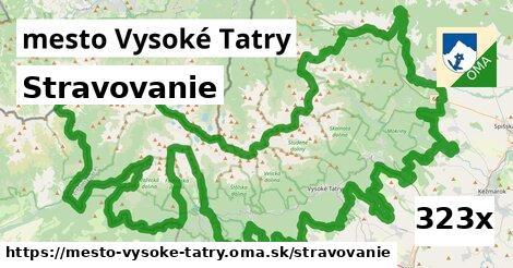 stravovanie v mesto Vysoké Tatry