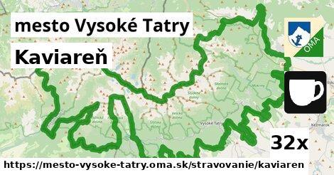 kaviareň v mesto Vysoké Tatry