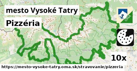 pizzéria v mesto Vysoké Tatry