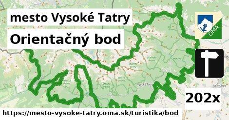 ilustračný obrázok k Orientačný bod, mesto Vysoké Tatry