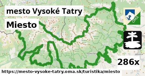 miesto v mesto Vysoké Tatry