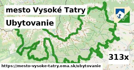 ubytovanie v mesto Vysoké Tatry