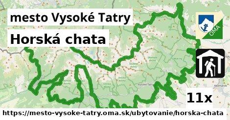 horská chata v mesto Vysoké Tatry