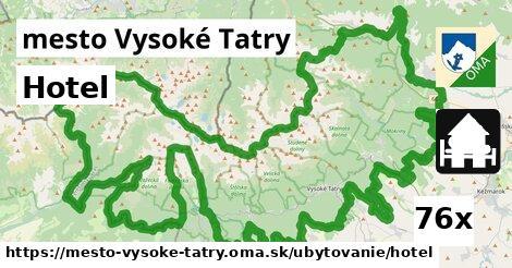 hotel v mesto Vysoké Tatry