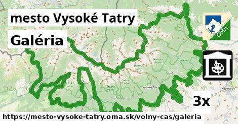 galéria v mesto Vysoké Tatry