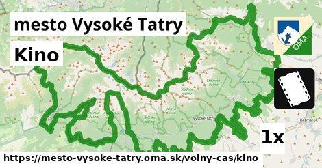 ilustračný obrázok k Kino, mesto Vysoké Tatry