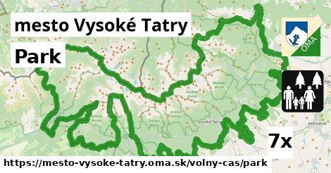 ilustračný obrázok k Park, mesto Vysoké Tatry