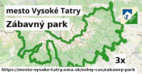 zábavný park v mesto Vysoké Tatry
