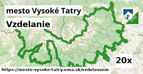 vzdelanie v mesto Vysoké Tatry