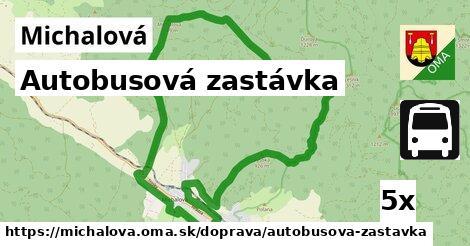 ilustračný obrázok k Autobusová zastávka, Michalová