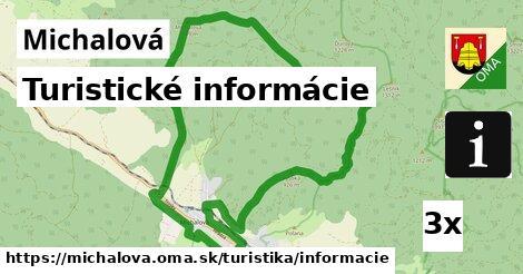 ilustračný obrázok k Turistické informácie, Michalová