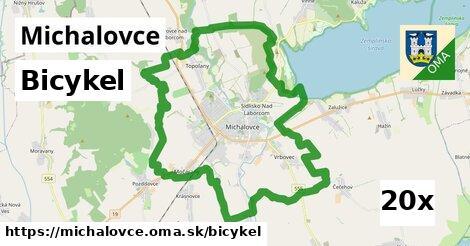 bicykel v Michalovce