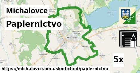 Papiernictvo, Michalovce