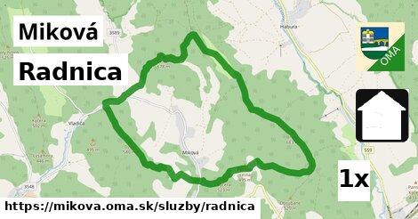 ilustračný obrázok k Radnica, Miková