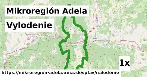 vylodenie v Mikroregión Adela