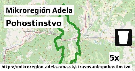 pohostinstvo v Mikroregión Adela