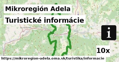 ilustračný obrázok k Turistické informácie, Mikroregión Adela