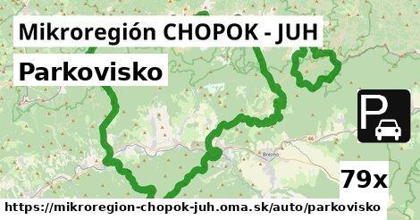 ilustračný obrázok k Parkovisko, Mikroregión CHOPOK - JUH
