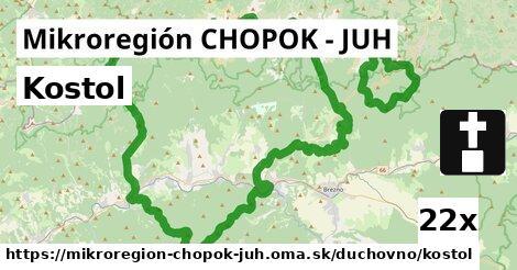 ilustračný obrázok k Kostol, Mikroregión CHOPOK - JUH