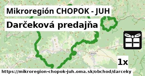 ilustračný obrázok k Darčeková predajňa, Mikroregión CHOPOK - JUH