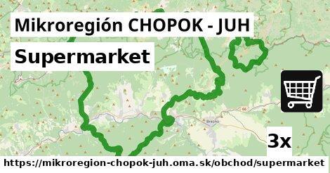 ilustračný obrázok k Supermarket, Mikroregión CHOPOK - JUH