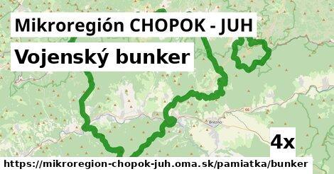 vojenský bunker v Mikroregión CHOPOK - JUH