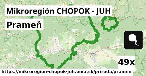 ilustračný obrázok k Prameň, Mikroregión CHOPOK - JUH