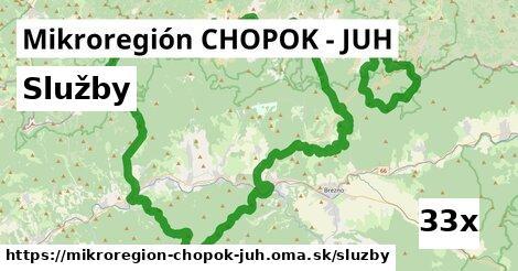 služby v Mikroregión CHOPOK - JUH