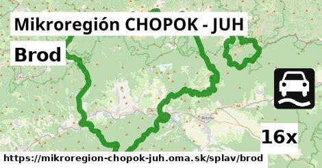 ilustračný obrázok k Brod, Mikroregión CHOPOK - JUH