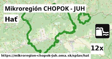 hať v Mikroregión CHOPOK - JUH