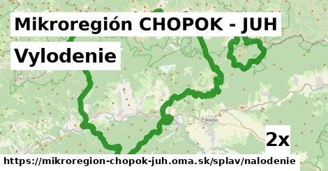 vylodenie v Mikroregión CHOPOK - JUH