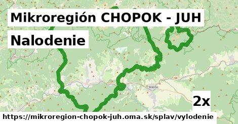 nalodenie v Mikroregión CHOPOK - JUH