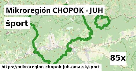 šport v Mikroregión CHOPOK - JUH