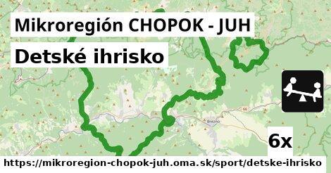 ilustračný obrázok k Detské ihrisko, Mikroregión CHOPOK - JUH