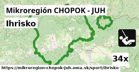 ihrisko v Mikroregión CHOPOK - JUH