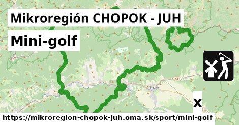 ilustračný obrázok k Mini-golf, Mikroregión CHOPOK - JUH