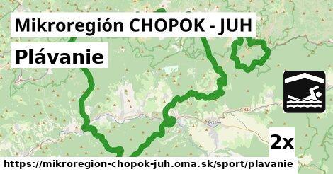 plávanie v Mikroregión CHOPOK - JUH