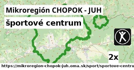 ilustračný obrázok k športové centrum, Mikroregión CHOPOK - JUH