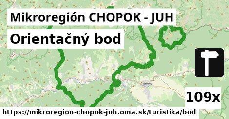 orientačný bod v Mikroregión CHOPOK - JUH