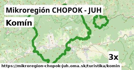 komín v Mikroregión CHOPOK - JUH