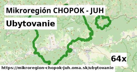 ubytovanie v Mikroregión CHOPOK - JUH