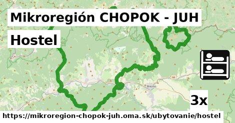 ilustračný obrázok k Hostel, Mikroregión CHOPOK - JUH